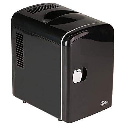 Ardes Mini refrigerador eléctrico portátil AR5I04, 4 L, negro
