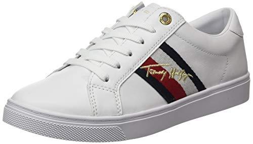 Tommy Hilfiger Venus 39a, Sneakers Mujer, Blanco, 38 EU
