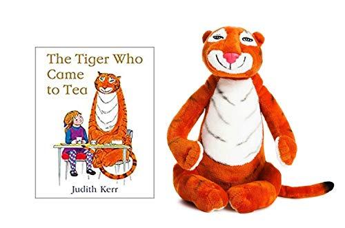 nursery Tigre vino a Tea Book y Soft Toy
