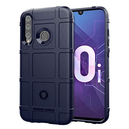 Xuemei CASO Silicona celulares Estuches y cubiertas del teléfono Funda de silicona a prueba de golpes resistente escudo protector de la cobertura total for Huawei Honor 10i (verde del ejército)