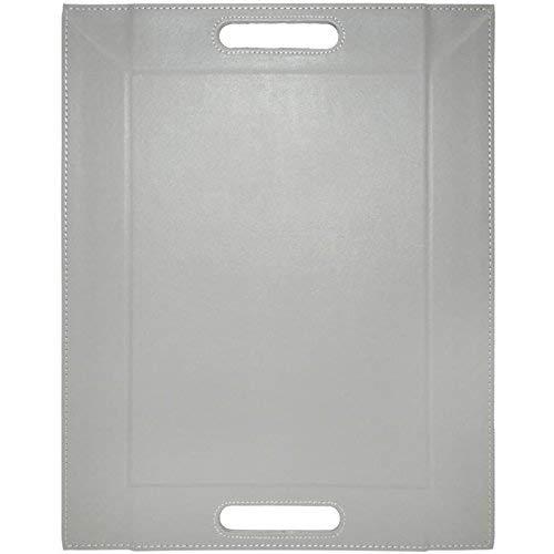 FreeForm Reversible Tray, Grey/Black, 55 x 41 cm