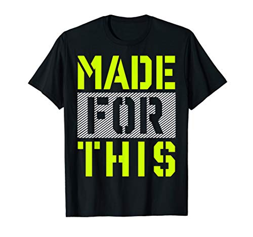 Made For This Athletic Neon Green Graphic T-Shirt