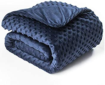 Bedsure Weighted Blanket with Removable Duvet Cover