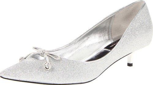 NINA Evita-YG Damen Pumps, Silber (Silber), 42 EU