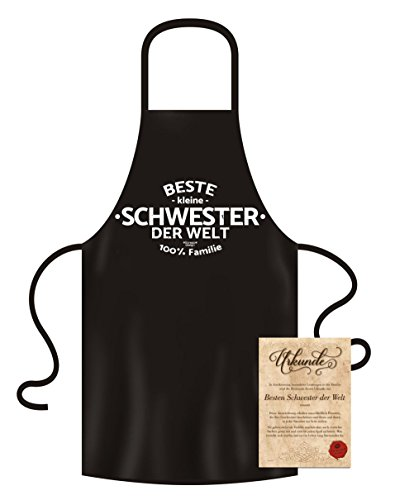 Great Cooking Apron Kitchen Apron Best Sister Christmas...