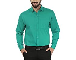 ainish Mens Cotton Formal Shirt (Available in various Colour Options)