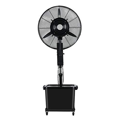 Standventilatoren Industrie Ventilator Abhebbarer Adjustment Fan Spray Water Bodenventilator Oszillierende Fan Atomisierung Kühlhaushalt Gewerbe Ventilator Schwarz Sockel 350 Watt