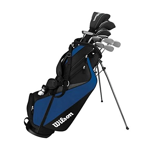 Wilson Men's Tour Velocity Complete Standard Right Golf Club Set and Bag WGGC63500
