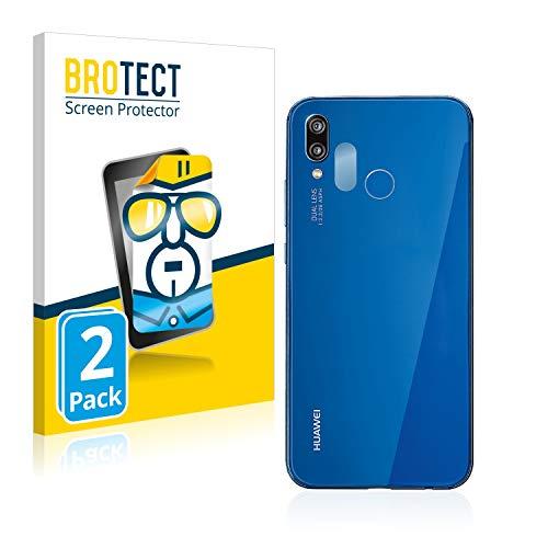 brotect Pellicola Protettiva Compatibile con Huawei P20 Lite 2018 (Camera) Pellicola Trasparente (2 Pezzi) Anti-Impronte