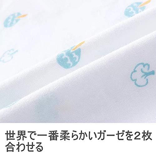 ガーゼハンカチガーゼタオルベビービブ-2層ガーゼハンカチ綿100%30*30㎝18枚(6柄各3枚)