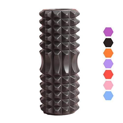 INMPC Foam Roller para Pilates, 33CM Columna de Yoga Hueca, Foam Roll para Fitness de Piernas/Cuello/Volver, Rulo Masaje Muscular, Rodillo de Espuma para Masajes de Tejido Profundo