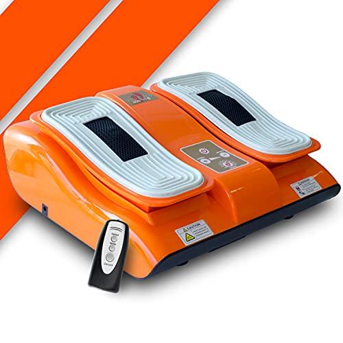 BONPLUS | Vibralegs Masajeador eléctrico para pies | Con vibración | Masaje Shiatsu | Mejora la circulación | Sensación de bienestar | Mando a Distancia | Dos años de Garantía