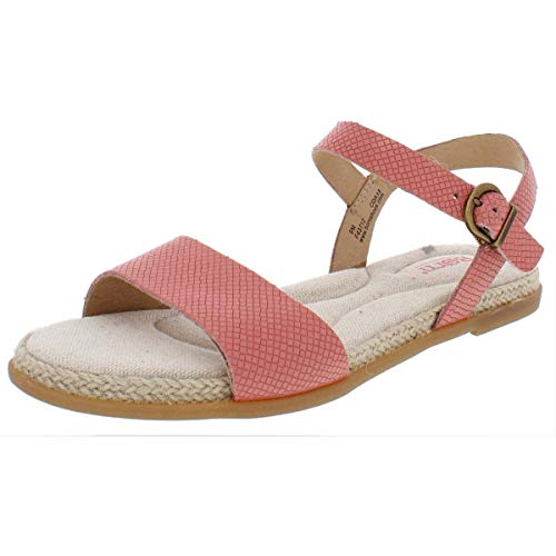 BORN Welch Brown Full Grain Leather Women's Shoes Pink (9)