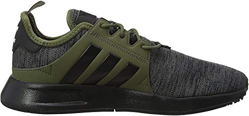 adidas Unisex-Kinder X_PLR Gymnastikschuhe, Grau (Dark Grey Heather/Core Black/Raw Khaki),38 EU (5UK)