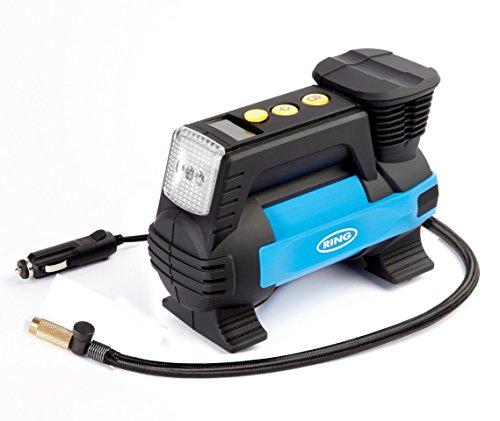Digital de flujo rápido de neumáticos 12V–Compresor de aire de impresión de Ring Automotive rac820