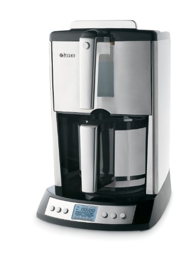 Saeco Easy Fill 10-Cup Automatic Drip Coffee Maker with Thermal Carafe, Stainless Steel