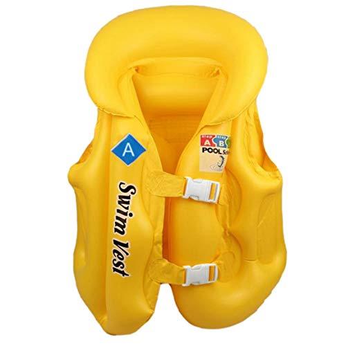 SeniorMar Sommerzeit Modisches Design Kinder Kinder Aufblasbarer Pool Float Schwimmweste Weste Bunte Baby Kinder Schwimmen Drifting Sicherheitswesten