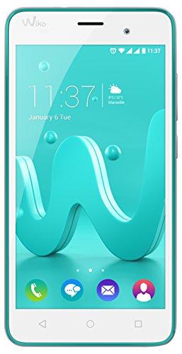 Wiko JERRY Smartphone Dual SIM, 8 GB, Turchese