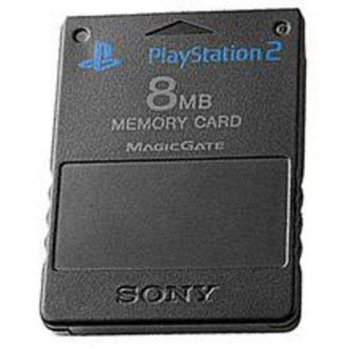 PlayStation 2 8MB Memory Card (Black) (Renewed)