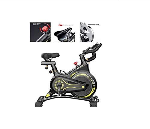 Lloow Bicicleta de Ciclo Interior con Control Inteligente: Eventos de Video y Aplicaciones multijugador, Sistema de Frenos magnéticos controlados por computadora, ergómetro ⭐