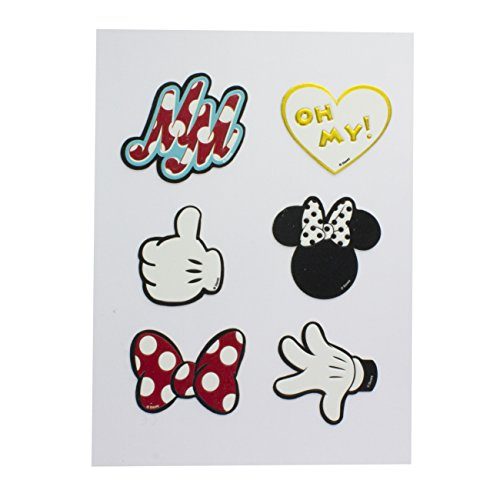 Minnie Mouse Accessory Stickers, PU, multi, 1 x 14 x 19 cm
