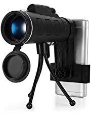 Zorbes 40X60 HD Mini Monocular Telescope with Tripod