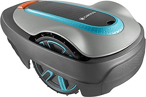 Gardena 15005-47 Robot Tagliaerba Sileno City fino a 300 m² di Prato, Pendenza fino al 35%, Altezza di Taglio 20-50 Mm, Controllo Tramite Bluetooth App, Protezione Antifurto