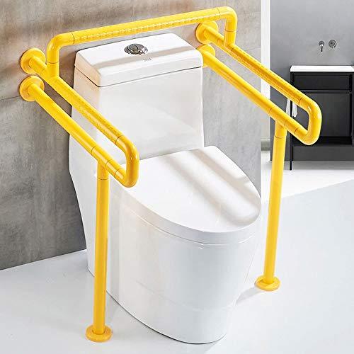 T5S6 Toilette Toilette Armstütze, Badezimmer Barrierefreie Sicherheitsfuge Armlehne for ältere Menschen, Schwangere Frauen, Etc (Color : Yellow)