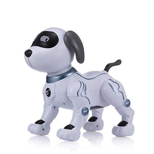 Goolsky LE Neng Spielzeug K16A Elektronische Haustiere Roboter Hund Stunt Dog Voice Command Programmierbare Touch-Sense Musik Song Spielzeug für Kinder Geburtstag