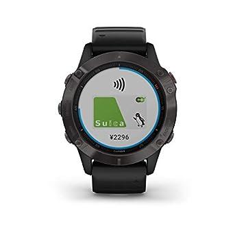 GARMIN(ガーミン) fenix 6 Sapphire Black 音楽再生機能 マルチスポーツ型GPSウォッチ 最大13日間稼働 【日本正規品】