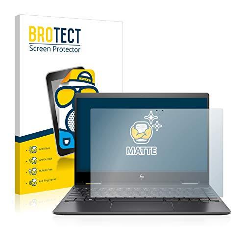 BROTECT Entspiegelungs-Schutzfolie kompatibel mit HP Envy X360 13-ar0001np Bildschirmschutz-Folie Matt, Anti-Reflex, Anti-Fingerprint