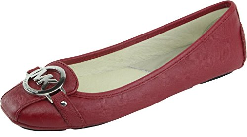 Femmes Michael Michael Kors Chaussures Plates Couleur Rouge Bright Red Taille 41