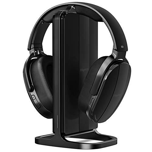 cheap HSPRO wireless headphones for TV, on-ear 2.4 GHz wireless charging headphones …