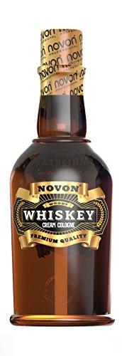 Novon - Whiskey Cream Cologne - WOODY - 400ml - Aftershave Cream Cologne - Creme nach der Rasur