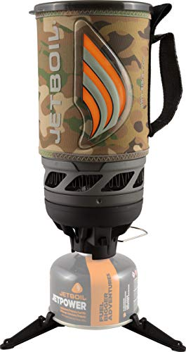Jetboil Flash Camping- und Backpacking-Kochsystem, Unisex-Erwachsene, Flash Cooking System, Camouflage, One Size
