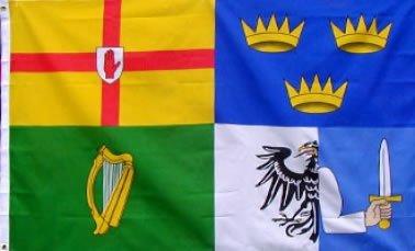 Celtic F.C. Ireland Four Provinces Flag