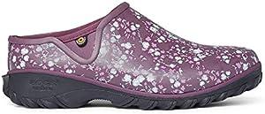 BOGS Women's Sauvie Clog Waterproof Rain Shoe