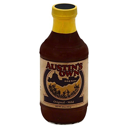 Austins Own Barbecue Sauce Original Mild 18 Oz (Pack of 3)