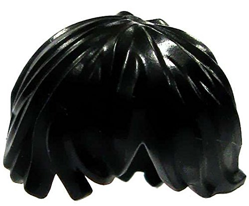 LEGO Minifigure Parts Black Tousled with Side Part Loose Hair [Loose]