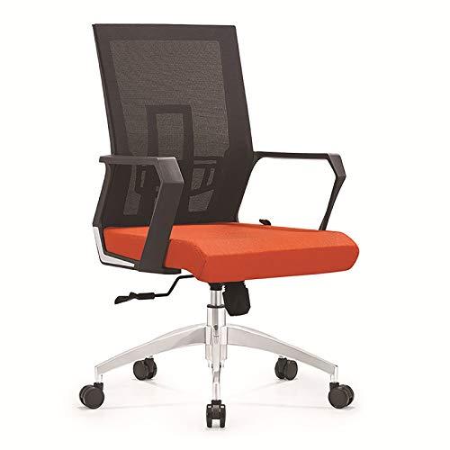 XIONGSHI Silla de Oficina en casa con Soporte de Cintura Giratorio en la Mitad de la Espalda, computadora de Trabajo Ajustable, sillón de Malla ergonómico y cómodo con sillón