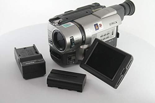 hi8 camcorders Sony CCD-TRV85 Hi8 8mm Hi-Fi Stereo Video Camera Handycam with 3.5