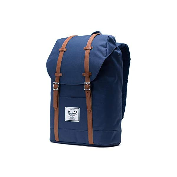 417hTP89SRL. SS600  - Herschel Retreat Backpack - Mochila casual unisex, Azul (Navy), 19.5 L