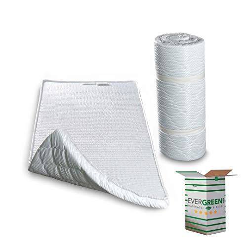 EvergreenWeb Twist Bed - Colchón de espuma de poliuretano para cama supletoria o cama de invitados, 70x 195cm, 120X195