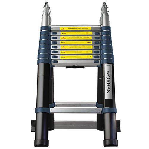Worham 5.6m Double Telescopic Folding Ladder