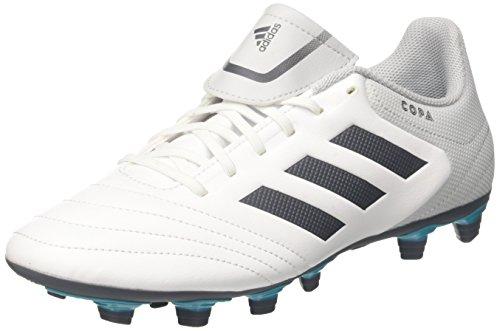 adidas Copa 17.4 FxG, Zapatillas de Fútbol Hombre, Multicolor (FTWR White/Onix/Clear Grey), 42 EU