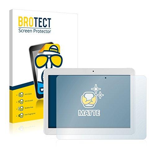BROTECT 2X Entspiegelungs-Schutzfolie kompatibel mit i.onik TM3 Series 1 10.1 Bildschirmschutz-Folie Matt, Anti-Reflex, Anti-Fingerprint