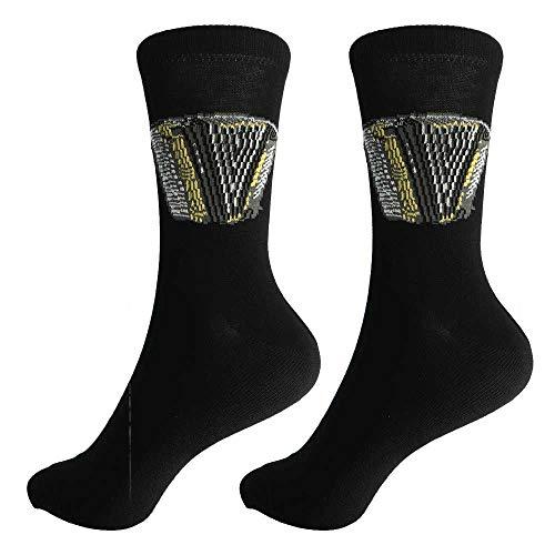 mugesh Musik-Socken Akkordeon (43/45) - Schönes Geschenk für Musiker