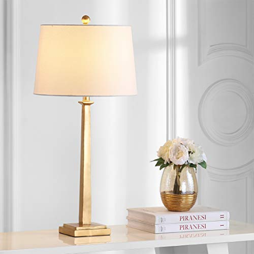 """Safavieh TBL4024A-SET2 Lighting Collection Andino 31.5"""" Gold Table Lamp"""