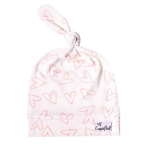 Copper Pearl Baby-Strickmütze Top Knot Stretchy Soft