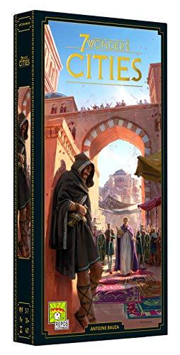 Asmodee Italia - 7 Wonders: Cities - Espansione Gioco da Tavolo, Edizione in Italiano (8042)
